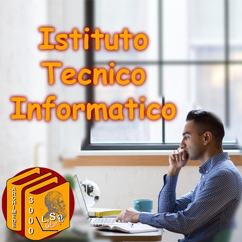 Diploma Istituto Tecnico Informatica